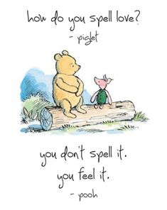 It's Winnie the Pooh day and this is our favourite Pooh quote (image source unknown). Our favourite Pooh fact is: Winnie the Pooh is also called Pooh or Pooh Bear but never ever just Winnie. What's your favourite Pooh quote or fact? Piglet, Pooh Bear, Eeyore, Christopher Robin, When Youre Feeling Down, How Are You Feeling, Make You Feel, How To Make, Winnie The Pooh Quotes