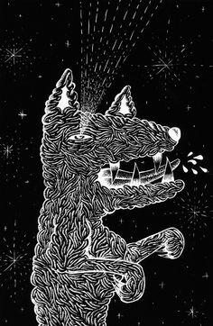 Gorgeous scratchboard dog by Kruella Denfer. Sculpture Projects, Art Projects, Scratchboard Art, Scratch Art, High School Art, Art For Art Sake, Teaching Art, Art Lessons, Street Art