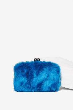 Nila Anthony Cookie Monster Faux Fur Clutch | Shop Accessories at Nasty Gal!