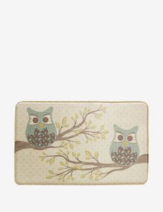 Thumbprintz Conifer Lodge Owl Rug 4 X 6 Multi Size Polyester Graphic And Products