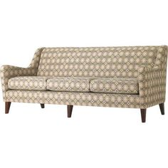 Studio Q Furniture Brodie Sofa in Grade 2 Fabric Frame Finish: Brazilwood, Upholstery: Fabric Jet