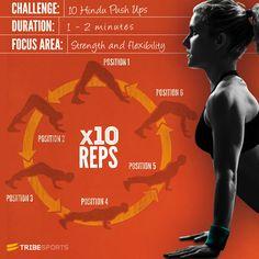 Challenge: 10 Hindu Push Ups