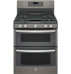 Double oven range with griddle!!