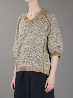 Veronique Leroy - v-neck sweater 3