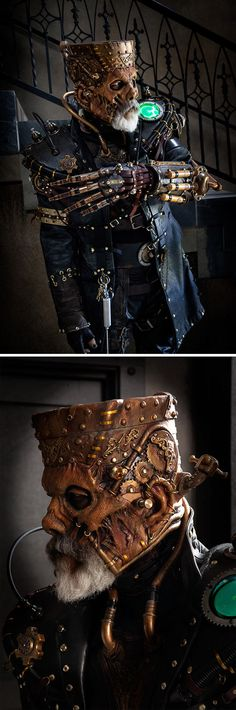 Steampunk Frankenstein… That is AWESOME