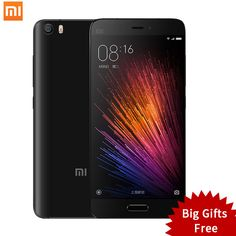 """Mobile Phones Original Xiaomi Mi5 Mi 5 Pro Prime Mobile Phone Xiomi Smartphone 5.15"""" Snapdragon 820 MIUI 8.1 Dual SIM Card NFC Fingerprint ID * This is an AliExpress affiliate pin.  Clicking on the VISIT button will lead you to find similar product on AliExpress website"""