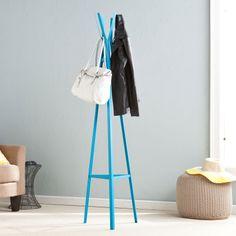 Electric Blue Coat Rack - Playful Modern Mudroom Collection - Dot & Bo