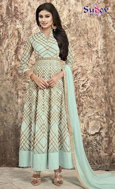 Latest Designer Party Wear Salwar Suit #salwarsuit #womensalwarsuit #designersuit #partywearsuit #onlinedresses #fashion #womenfashion #anarkalisuit #weddingdresses #onlinesalwarsuit #offer #eidcollection #rakhispecial Salwarsuit