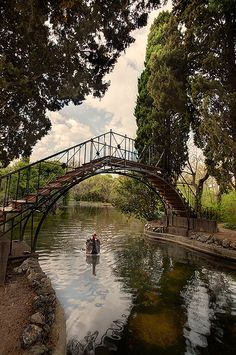 Lago del Jardin del Capricho, Madrid (Spain) by marcp_dmoz