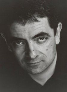 "Rowan Atkinson - a.k.a. Mr. Bean, Blackadder, and Johnny English.  I love a lot of things he's done, especially ""Mr. Bean's Holiday,"" ""Johnny English,"" and his one man show."