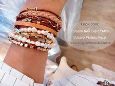 Acessórios que proporcionam um destaque a mais para o look! Na loja virtual: www.lojagracealmeida.com.br
