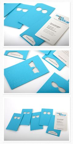30+ Awesome Blue Business Cards