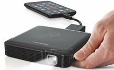 This portable HDMI projector is perfect for travel, whether it's for business or pleasure!