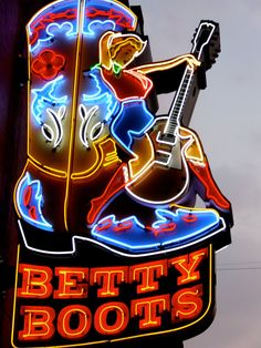 Betty Boots. Nashville, Tennessee.