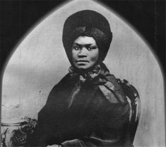 """ELISABETH """"LISETTE"""" DENISON FORTH, born enslaved in 1786 near Detroit, Michigan. Around 1807, she moved to Canada to establish residency and gain her freedom.  Forth returned to Detroit around 1815 and worked as a domestic servant.  In 1825, she purchased four lots in Pontiac, Michigan, becoming the first Black property owner in the city.  In her will, Forth left $3,000 for the construction of a church.  St. James Episcopal Church in Grosse Ile, Michigan which was completed in 1868."""