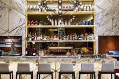 AC Hotel Portland Downtown Portland, Oregon restaurant shelf Bar