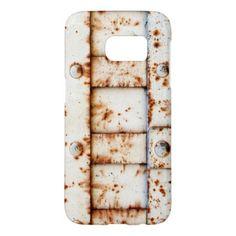 Rusty Metal Samsung Galaxy S7 Case - chic design idea diy elegant beautiful stylish modern exclusive trendy
