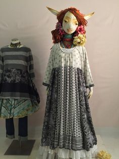 SOLF TO STEPHANIE Recycled Maxi Dress-Grey Print by raggandbone