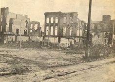 Hurricane Agnes (1972):  Gas main rupture burned down an entire block.  Kingston / Wilkes -Barre