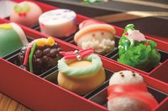 Christmas wagashi