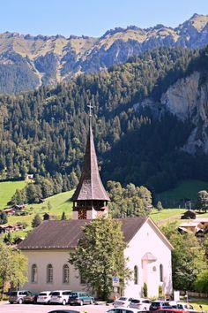 Switzerland Lauterbrunnen church (Wil 3491)