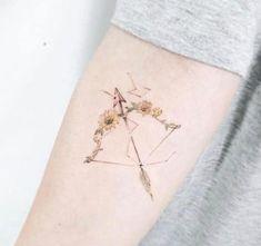 cute zodiac signs tattoo for women Mini Tattoos, Cute Tattoos, Beautiful Tattoos, Body Art Tattoos, Sleeve Tattoos, Word Tattoos, Tatoos, Small Forearm Tattoos, Ankle Tattoo Small