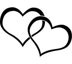 Clip Art Hearts Clip Art Two Hearts Clipart Panda