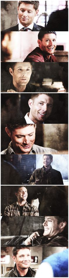 Dean smiling! I think we could all use a little bit of this right now...
