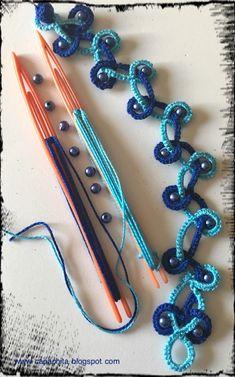 Tatting Bracelet, Tatting Jewelry, Tatting Lace, Needle Tatting Patterns, Crochet Patterns, Needle Tatting Tutorial, Hand Embroidery Videos, Bra Pattern, A Silent Voice