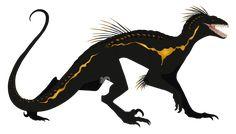 Indoraptor by on DeviantArt Prehistoric Creatures, Mythological Creatures, Fantasy Creatures, Mythical Creatures, Jurassic Movies, Jurassic World Dinosaurs, Jurassic Park World, Dinosaur Sketch, Dinosaur Art