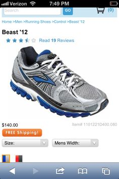 new arrival e86af 210dd Brooks Beast – the 2012 edition of the best men s motion control running  shoe on the market 14