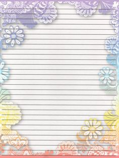 Printable Writing Paper By LadyOfManyArtForms.deviantart.com On @DeviantArt