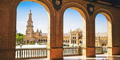 Spain & Portugal: 13-Night Tour incl. Flights | Travelzoo Madrid, Tourist Map, Vacation Deals, Next Holiday, Spain And Portugal, Seville, Granada, Solo Travel, Taj Mahal