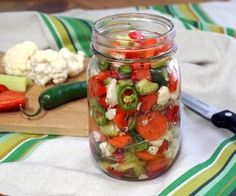 Our homemade Giardiniera recipe gives you the freedom to choose your heat. These Italian pickled vegetables are the perfect, crisp sandwich topper and more!