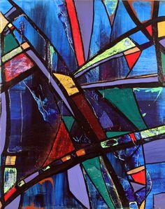 "'Soma' by Paul Harrington | $250 | 30""H x 24""W x 1""D | Original Art | http://vangoart.co/buy/art/3689 @Vango"