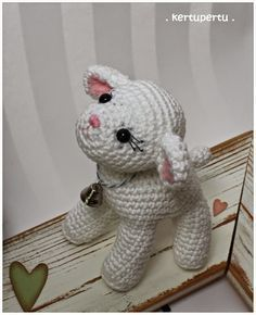 Mesmerizing Crochet an Amigurumi Rabbit Ideas. Lovely Crochet an Amigurumi Rabbit Ideas. Baby Knitting Patterns, Crochet Animal Patterns, Stuffed Animal Patterns, Amigurumi Patterns, Amigurumi Doll, Crochet Animals, Crochet Sheep, Easter Crochet, Crochet Crafts