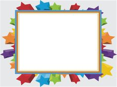 colorful-stars-frame-powerpoint-backgrounds
