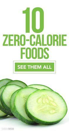 10 healthy foods that have ZERO calories!