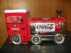 Coca-Cola Train Engine Tin