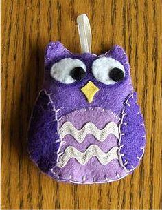 Karen Ladd - Felt Owl