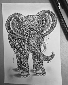 Elephant by NAcaNs on DeviantArt