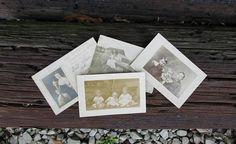 Vintage Photo Postcards Black and White Photograph Paper Ephemera Scrapbooking AtomicPutz.com