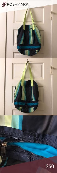 7df80f1d36 Lululemon gym bag Green blue lululemon gym bag lululemon athletica Bags  Green Bag, Gym Bag
