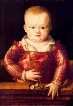Retrato de un niño. 1545. Escuela italiana. Óleo sobre panel, 48,9 x 34,3 cm. Círculo de Sofonisba Anguissola