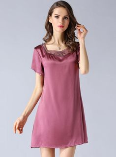 36e77df2ee 26 Best Silk Nightgowns for Women images