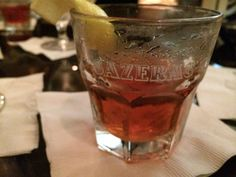 The Sazerac in New Orleans
