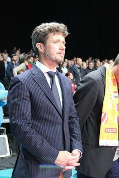 Crown Prince Frederik of Denmark 9/30/13