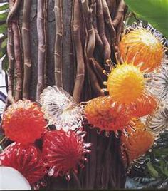 Dale Chihuly...blown glass. I absolutely love this man's work!