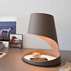 Evo Table Lamp: Armando D Andrea for Calligaris Cool Lighting, Modern Lighting, Lighting Design, Italian Furniture Design, Unique Furniture, Outdoor Furniture, Luminaria Diy, Home Interior, Interior Design