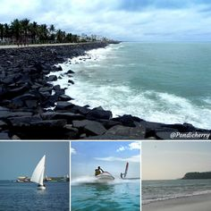If you are looking for an unforgettable adventure sport in Pondicherry, then Karaikal Beach is the best destination for you. Karaikal Beach in Pondicherry offers a spectacular array of water sports, especially to the adventure enthusiastic travelers. Here you can enjoy thrilling water activities like Backwater Sailing, Boating, Camping at the Beachside, Canoeing, Water volleyball, etc. The best time to visit this beach is from October to March. Pondicherry, Water Activities, Canoeing, Amazing Destinations, Water Sports, Boating, Sailing, October